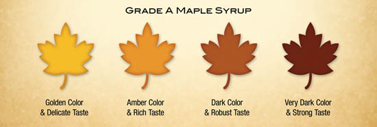 Maple Syrup Grades